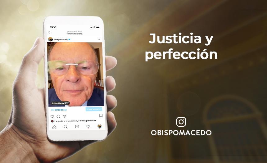 Justicia y perfección